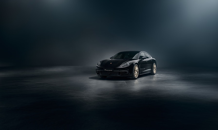 The new Panamera 10 Years Edition.